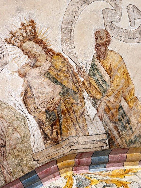 Jacobskerk Winterswijk Fresco Maria